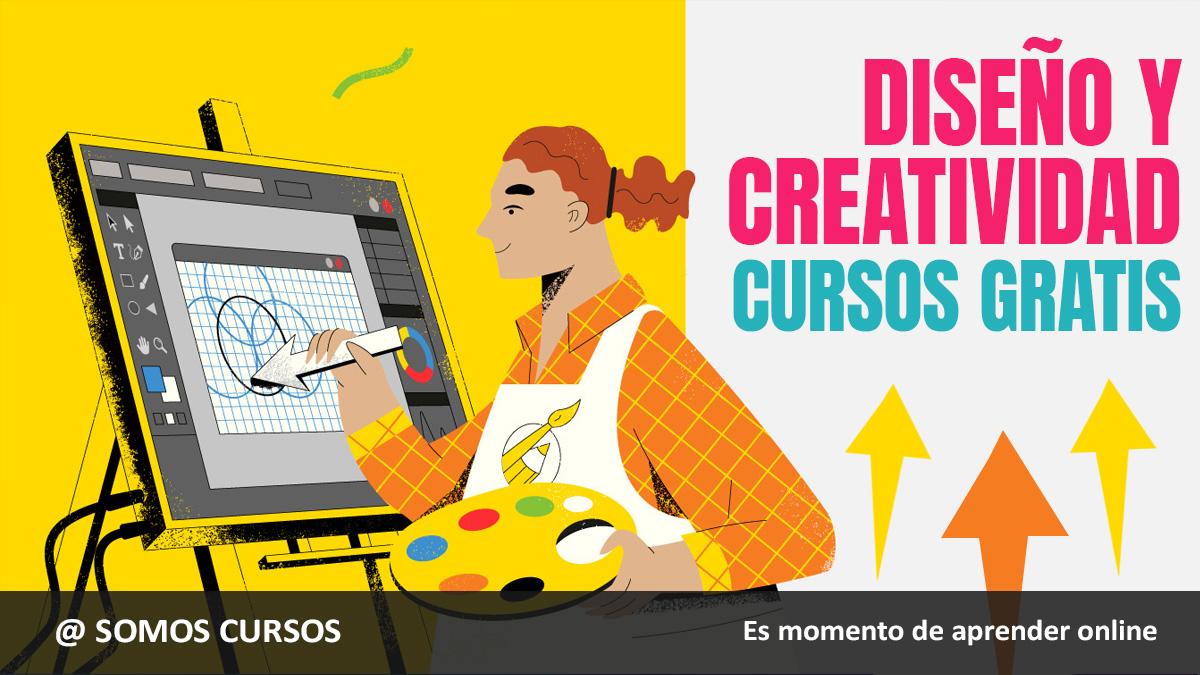 cursos gratis diseño y creatividad