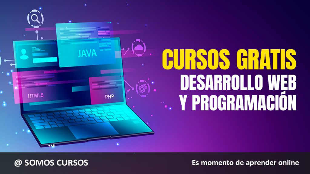 cursos gratis de programación y desarrollo web